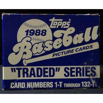 1988 Topps Traded & Rookies Baseball Factory Set (Reed Buy)