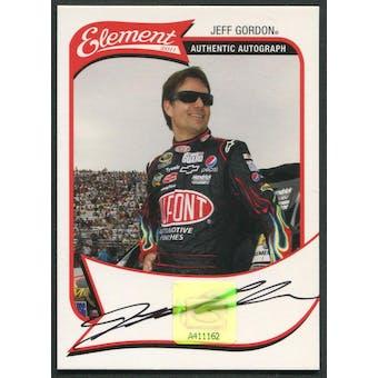 2011 Press Pass Element Racing #19 Jeff Gordon Auto