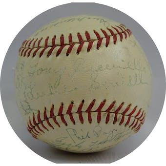 1951 Cincinnati Reds Team Signed Baseball JSA XX05830 (Reed Buy)