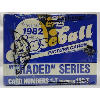 1982 Topps Traded Baseball Factory Set Tape Intact BBCE (Reed Buy)