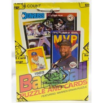 1989 Donruss Baseball Wax Box BBCE FASC (Reed Buy)