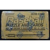 1989 Donruss Baseball Factory Sealed Rack Case BBCE (Reed Buy)