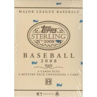 2008 Topps Sterling Baseball Hobby Box