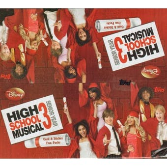 High School Musical 3 Hobby Box (2008 Topps)