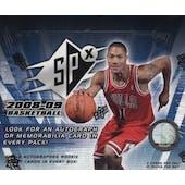 2008/09 Upper Deck SPx Basketball Hobby Box