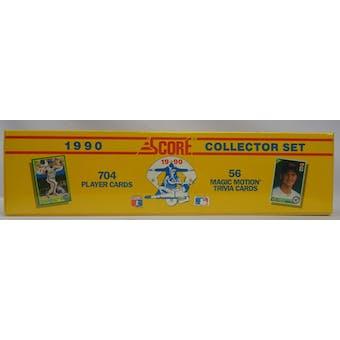 1990 Score Baseball Factory Set (704) (Reed Buy)