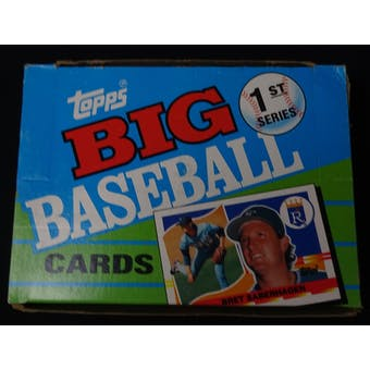 1990 Topps Big Series 1 Baseball Wax Box (Reed Buy)