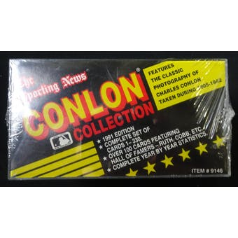 1991 Conlon Collection Baseball Factory Set (Reed Buy)