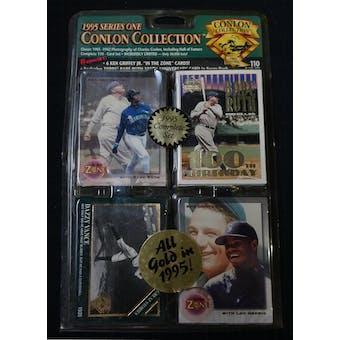 1995 Conlon Collection Series 1 Baseball Factory Set (Reed Buy)