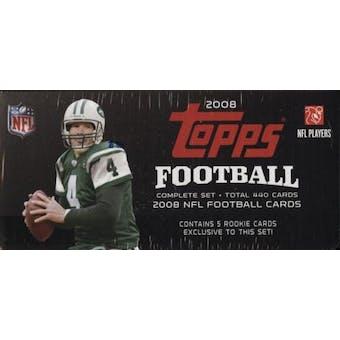 2008 Topps Football Factory Set (Box)