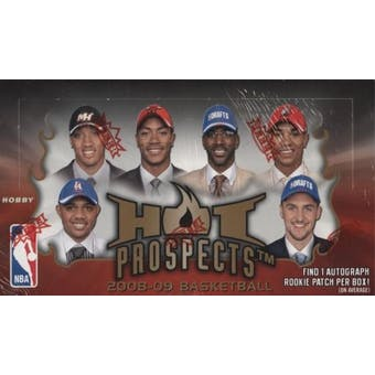 2008/09 Fleer Hot Prospects Basketball Hobby Box