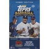 2008 Topps Updates & Highlights Baseball Hobby Box