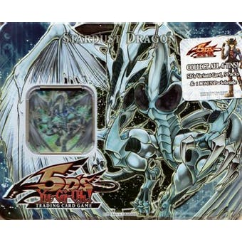 Upper Deck Yu-Gi-Oh 2008 Holiday Series 1 Stardust Dragon Tin