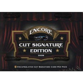 2008 Razor Cut Signature Encore Edition Hobby Box