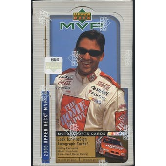 2000 Upper Deck MVP Racing Hobby Box