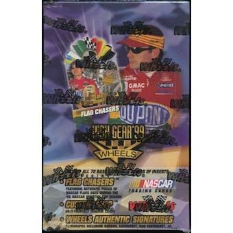 1999 Press Pass Wheels High Gear Racing Hobby Box