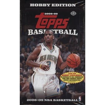 2008/09 Topps Basketball Hobby Box
