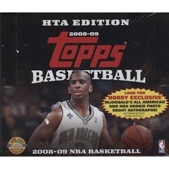 2008/09 Topps Basketball Jumbo Box