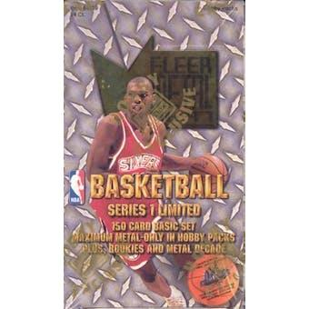 1996/97 Skybox Metal Series 1 Basketball Hobby Box