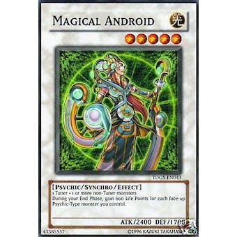 Yu-Gi-Oh Duelist Genesis Single Magical Android Super Rare