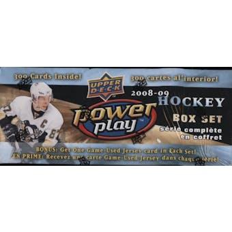 2008/09 Upper Deck Power Play Hockey Factory Set (Box)