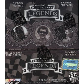 2008 Press Pass Legends Racing Hobby Box