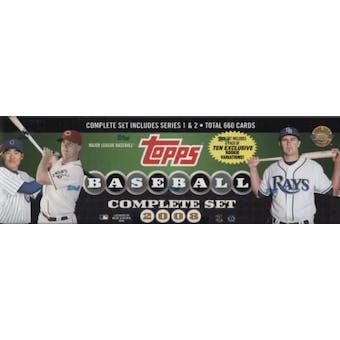 2008 Topps Factory Set Baseball Holiday Set (Box)