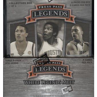 2008/09 Press Pass Legends Basketball Hobby Box