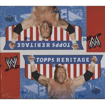 2008 Topps WWE Heritage IV Wrestling Hobby Box