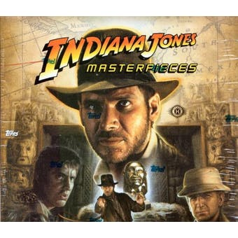 Indiana Jones Masterpieces Hobby Box (2008 Topps)