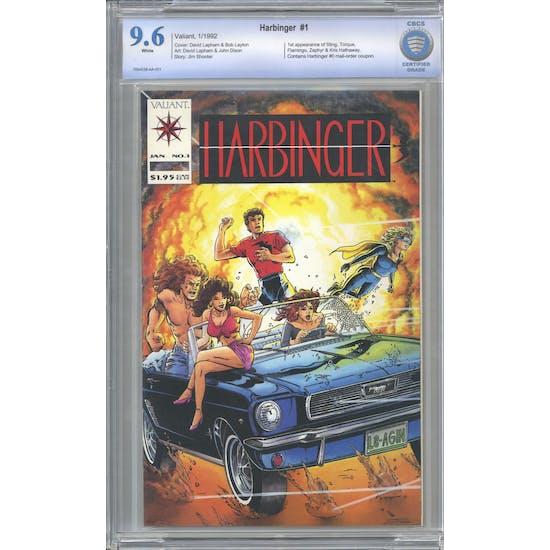 Harbinger #1 CBCS 9.6 (W) *7004538-AA-001*