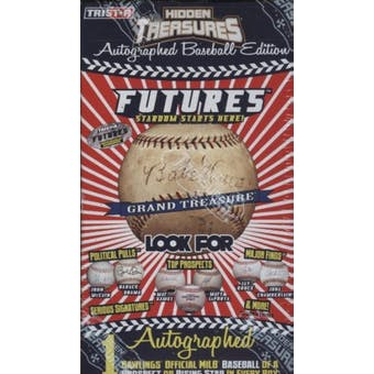 2008 TriStar Hidden Treasures Futures Autographed Baseball Hobby Box