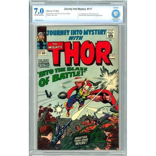 Journey Into Mystery #117 CBCS 7.0 (OW-W) *7008523-AA-002*