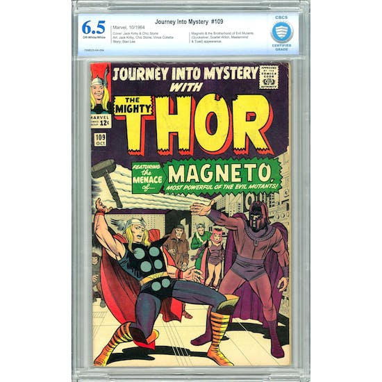 Journey Into Mystery #109 CBCS 6.5 (OW-W) *7008523-AA-004*