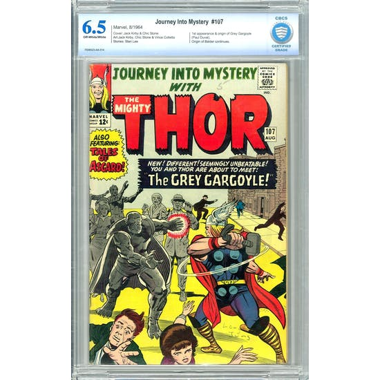 Journey Into Mystery #107 CBCS 6.5 (OW-W) *7008523-AA-014*
