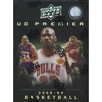 2008/09 Upper Deck Premier Basketball Hobby Box (Pack)