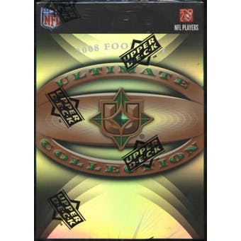 2008 Upper Deck Ultimate Collection Football Hobby Box (Pack)