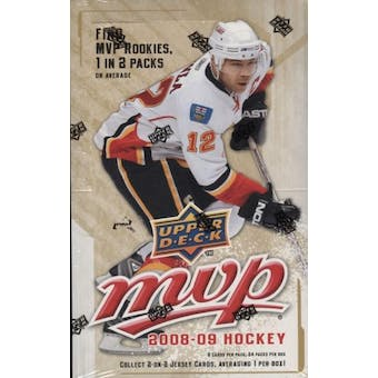 2008/09 Upper Deck MVP Hockey Hobby Box