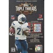 2008 Topps Triple Threads Football Hobby Box