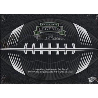 2008 Press Pass Legends Bowl Edition Football Hobby Box