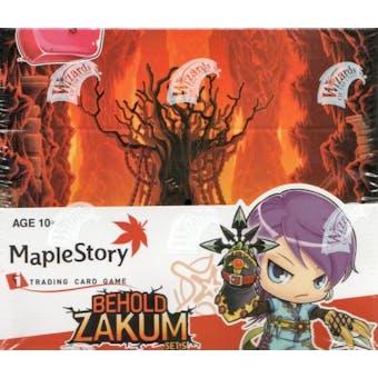 WOTC Maple Story Series 5 Behold Zakum Booster Box