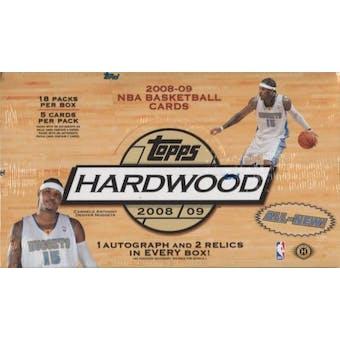 2008/09 Topps Hardwood Basketball Hobby Box