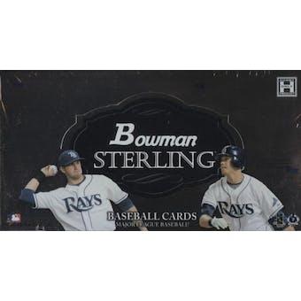 2008 Bowman Sterling Baseball Hobby Box