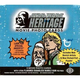 Star Wars Heritage Series 2 Hobby Box (2004 Topps)