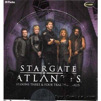 Stargate Atlantis Season 3 & 4 Trading Cards Box (Rittenhouse 2008)