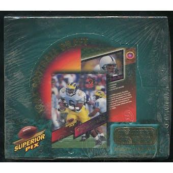 1995 Superior Pix Draft Football Hobby Box