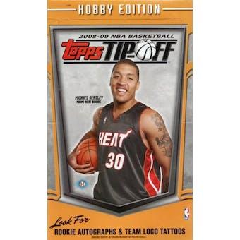 2008/09 Topps Tip-Off Basketball Hobby Box