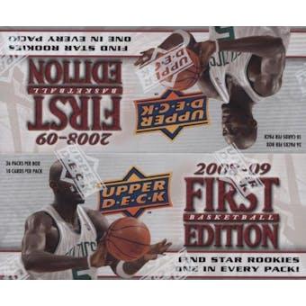 2008/09 Upper Deck First Edition Basketball 36-Pack Box
