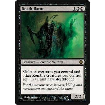 Magic the Gathering Shards of Alara Single Death Baron - NEAR MINT (NM)