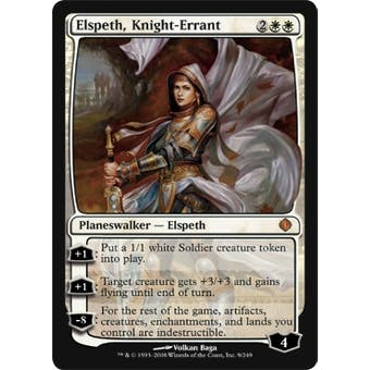 Magic the Gathering Shards of Alara Single Elspeth, Knight Errant - NEAR MINT (NM)